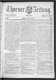 Thorner Zeitung 1888, Nr. 35