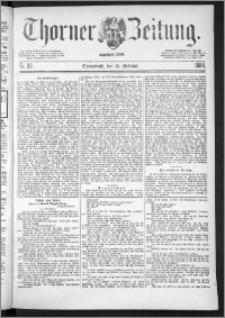 Thorner Zeitung 1888, Nr. 36