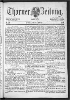 Thorner Zeitung 1888, Nr. 38