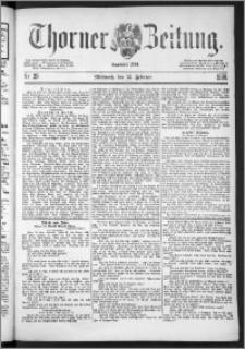 Thorner Zeitung 1888, Nr. 39