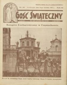 Gość Świąteczny 1928.09.23 R. XXXII nr 39