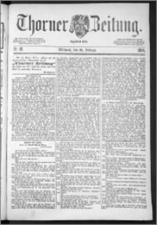 Thorner Zeitung 1888, Nr. 45