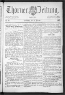 Thorner Zeitung 1888, Nr. 46