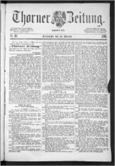 Thorner Zeitung 1888, Nr. 48