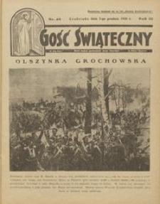Gość Świąteczny 1928.12.02 R. XXXII nr 49
