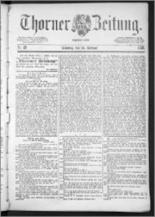 Thorner Zeitung 1888, Nr. 49 + Beilage