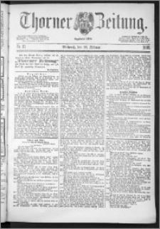 Thorner Zeitung 1888, Nr. 51