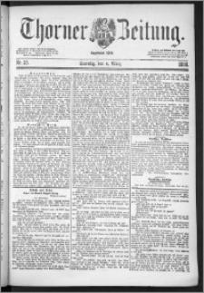 Thorner Zeitung 1888, Nr. 55 + Beilage