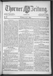 Thorner Zeitung 1888, Nr. 57