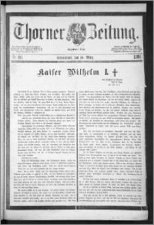 Thorner Zeitung 1888, Nr. 60