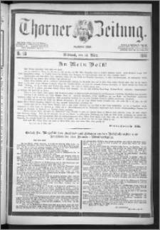Thorner Zeitung 1888, Nr. 63