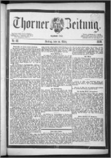 Thorner Zeitung 1888, Nr. 65