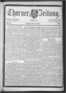 Thorner Zeitung 1888, Nr. 67 + Beilage