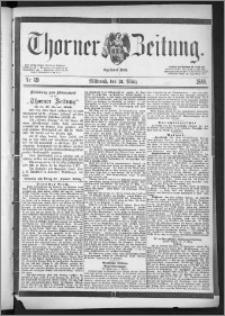 Thorner Zeitung 1888, Nr. 69