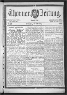 Thorner Zeitung 1888, Nr. 70