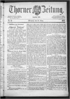 Thorner Zeitung 1888, Nr. 75