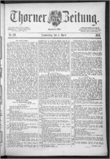 Thorner Zeitung 1888, Nr. 80