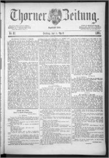 Thorner Zeitung 1888, Nr. 81