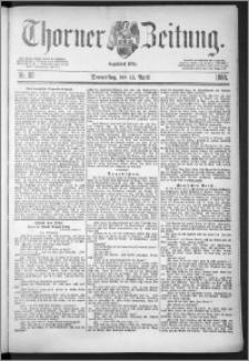 Thorner Zeitung 1888, Nr. 86 + Beilage