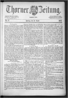 Thorner Zeitung 1888, Nr. 87