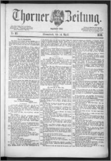 Thorner Zeitung 1888, Nr. 88