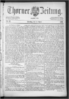 Thorner Zeitung 1888, Nr. 90