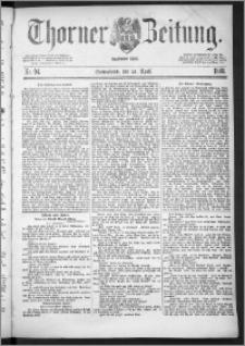 Thorner Zeitung 1888, Nr. 94