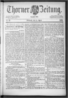 Thorner Zeitung 1888, Nr. 97