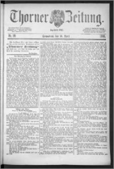 Thorner Zeitung 1888, Nr. 99