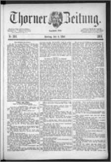 Thorner Zeitung 1888, Nr. 104