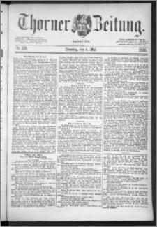 Thorner Zeitung 1888, Nr. 106