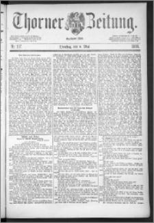 Thorner Zeitung 1888, Nr. 107