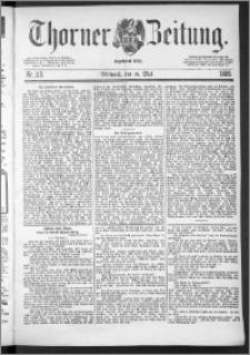 Thorner Zeitung 1888, Nr. 113