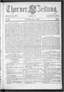 Thorner Zeitung 1888, Nr. 114