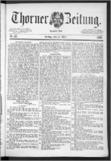 Thorner Zeitung 1888, Nr. 115