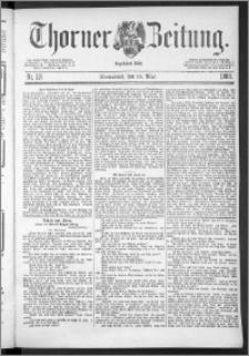 Thorner Zeitung 1888, Nr. 116