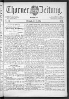 Thorner Zeitung 1888, Nr. 118