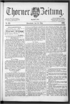 Thorner Zeitung 1888, Nr. 121