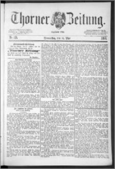 Thorner Zeitung 1888, Nr. 125