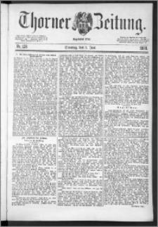 Thorner Zeitung 1888, Nr. 128