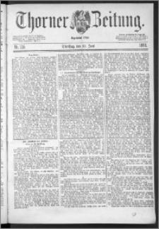 Thorner Zeitung 1888, Nr. 135