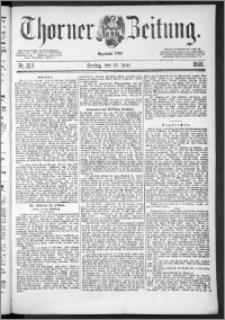 Thorner Zeitung 1888, Nr. 138