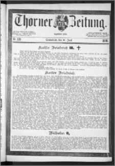 Thorner Zeitung 1888, Nr. 139