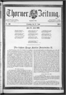 Thorner Zeitung 1888, Nr. 140 + Beilage