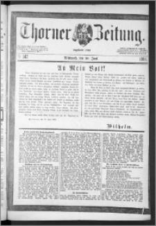 Thorner Zeitung 1888, Nr. 142