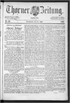 Thorner Zeitung 1888, Nr. 145