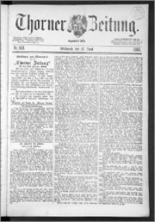Thorner Zeitung 1888, Nr. 148