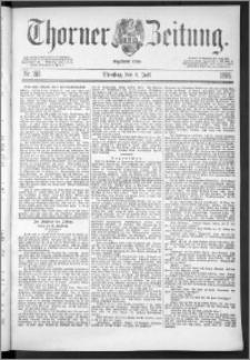 Thorner Zeitung 1888, Nr. 153