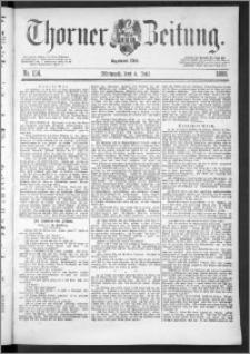 Thorner Zeitung 1888, Nr. 154