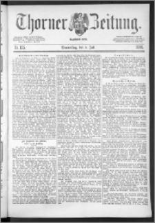 Thorner Zeitung 1888, Nr. 155